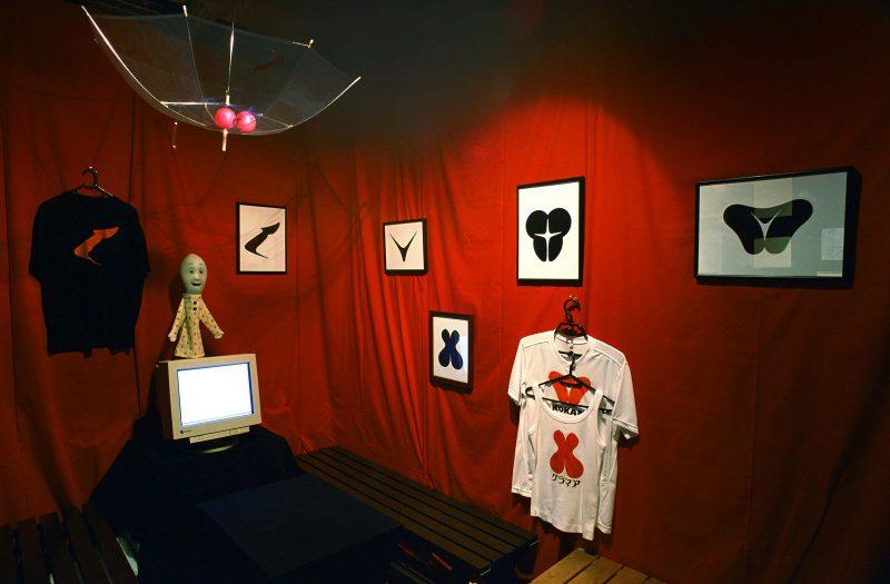 2001年作品展・2人展 at新宿ゴールデン街・原子心母